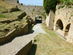 <p>Volterra - Fonti and Porta San Felice <br> Photo Credit: Nicole Fricke</p>