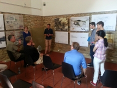 <p>Final Presentations - Team 2 in action<br> Photo Credit: Wladek Fuchs</p>