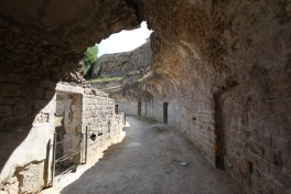 <p>Visiting the Roman Theater in Volterra<br> Photo Credit: Angela Ng</p>