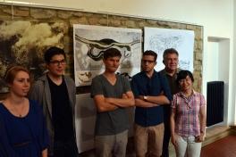 <p>Final Presentation - Team 2<br> Photo Credit: Jienan Zhang</p>