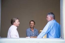 <p>Will Wittig, Marco Bruchi and Wladek Fuchs<br> Photo Credit: Yang Yu</p>