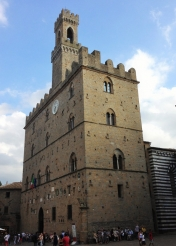 <p>Palazzo dei Priori in Volterra - the oldest town hall in Tuscany<br> Photo Credit: Katherine Stowell</p>