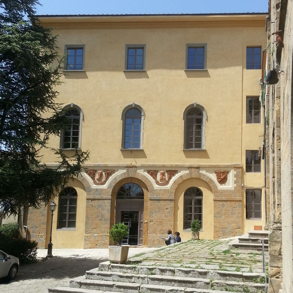 The Volterra International Residential College after the renovation work, May 2013