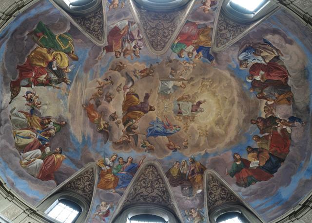 San Giacomo in Augusta - oval dome