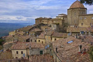 Panoramic View of Volterra
