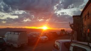 Volterra's Sunset