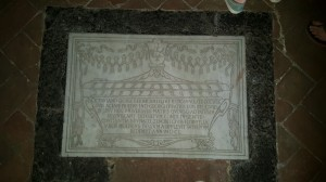 Inside the Church of Saint Dalmazio