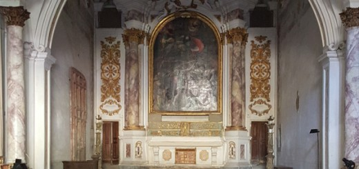 Inside the Church of Saint Dalamazio