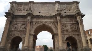 The Arch of Emperor Constantine