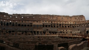Ground Level of the Colosseum