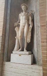 Statue of Hermes/Mercury God of Transitions and Boundaries.