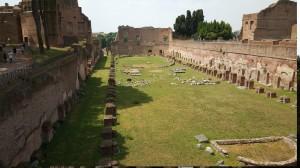 Stadium of Domitian, Palatine Hill