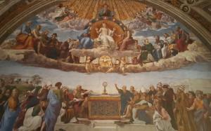 Raphael's mural the Stanza della Segnatura.