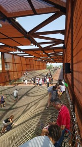 Inside Brasil's Pavilion