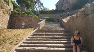 The stairs of Fonti de Felcie
