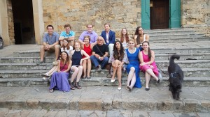 The Final Picture of the UDM SOA Students in Volterra