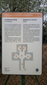 Description of the tomb.
