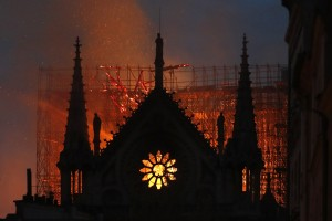 Tragic fire at Notre Dame