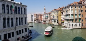 One of Venice's many canals.